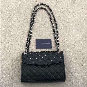 Rebecca Minkoff Studded Mini Affair Black